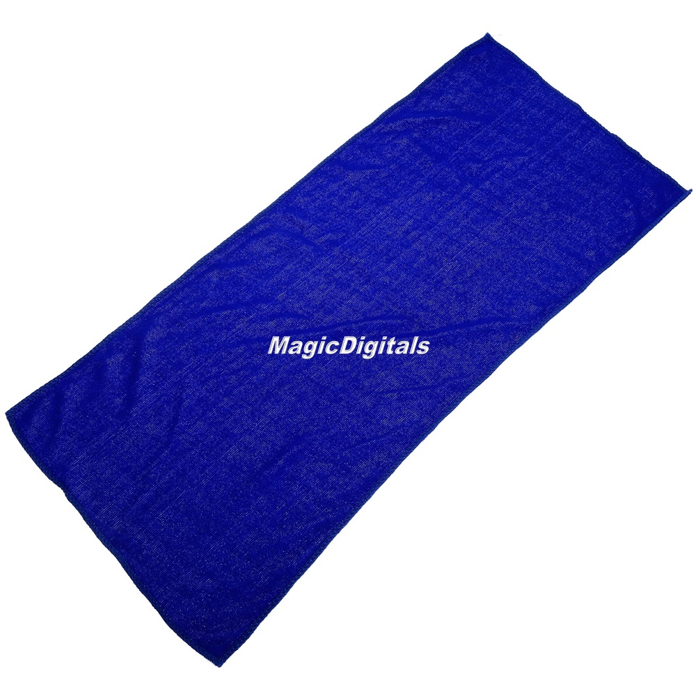 Zip Soft Microfiber Towel: Car Auto Home Cleaning Microfiber Soft Absorbent Blue Wash